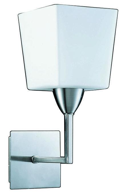 LAMPA ŚCIENNA CANDELLUX WYPRZEDAŻ 21-69699 WIBRA KINKIET/1  NIKIEL MAT E27