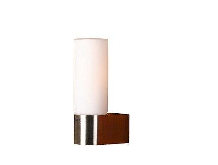 LAMPA ŚCIENNA CANDELLUX WYPRZEDAŻ 21-84500 MIRROR KINKIET 1*40W E14 NIKIEL MAT