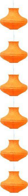 LAMPA SUFITOWA CANDELLUX WYPRZEDAŻ 3494061-18 GRIFF - ZWIS /6 PAPIEROWY ŚR.25 ORANGE E-14 40W
