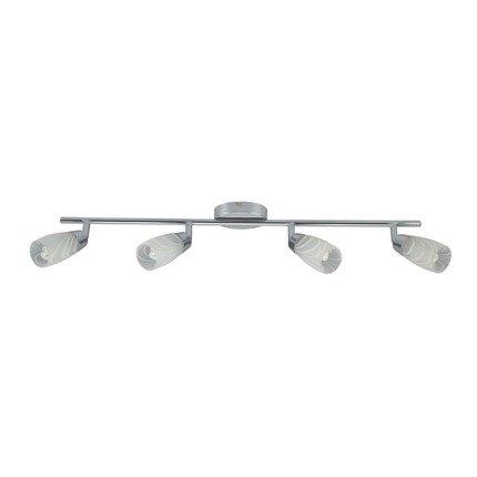 LAMPA SUFITOWA CANDELLUX WYPRZEDAŻ 94-28412 LAUFER LISTWA 4X40W G9 CHROM