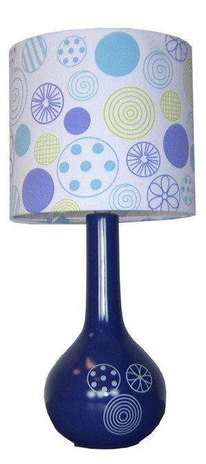 LAMPKA BIURKOWA CANDELLUX WYPRZEDAŻ 41-40254 SNELLA LAMPKA CERAMICZNA DUŻA 1X40W E14 RÓŻOWA ABAŻUR KOLOROWY
