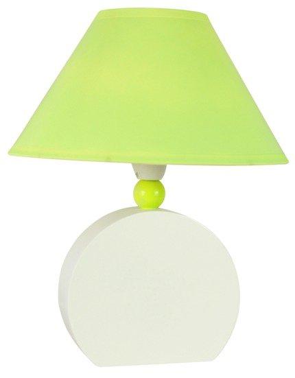 LAMPKA BIURKOWA CANDELLUX WYPRZEDAŻ 41-62508 OFELIA LAMPKA GAB. MDF 1X40W E14 ZIELONA