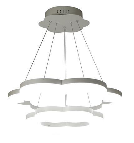 Lampa sufitowa dziecięca biała chmurka LED 51W Cloud Candellux 32-54845