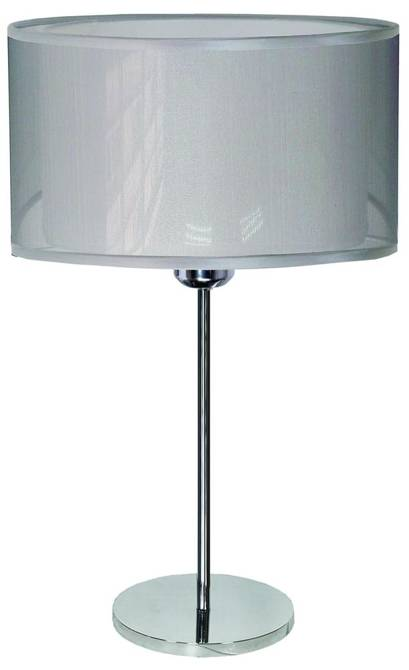 Lampka stołowa 3x40W E14 chrom Piano Candellux 41-27788