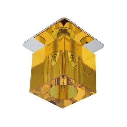 Oprawa stropowa chrom kryształ pomarańczowy G4 20W SK-18 Candellux 2280168