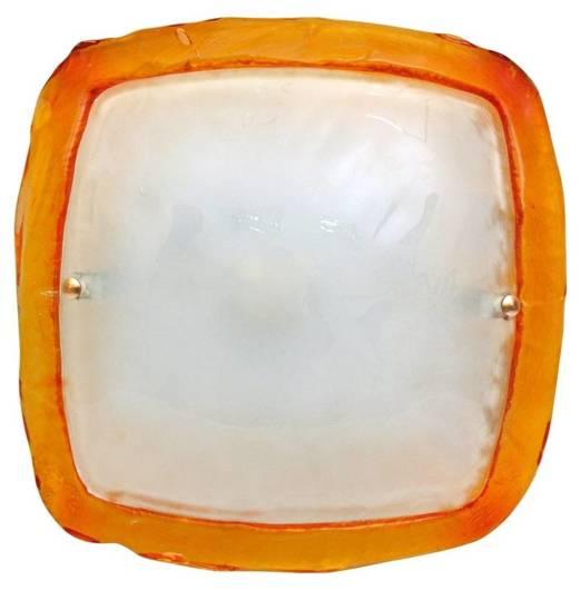 BORGO Plafon 30 Pomarańczowy 1X60W E27 PROMOCJA