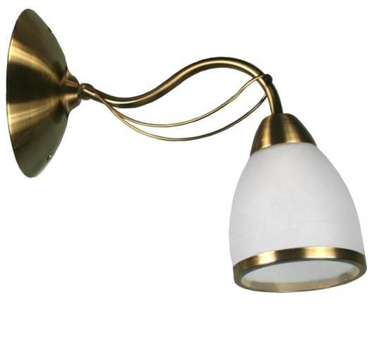 LAMPA ŚCIENNA CANDELLUX WYPRZEDAŻ 21-94141 POLA KINKIET 1X40W E14 PATYNA