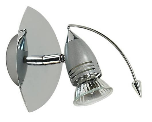 LAMPA ŚCIENNA CANDELLUX WYPRZEDAŻ 91-09855 THUNDER - LISTWA 1*50W GU10 230V ANTRACYT/CHROM