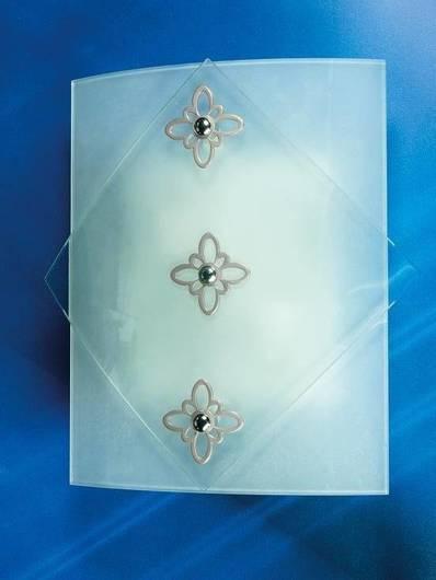 LAMPA SUFITOWA CANDELLUX WYPRZEDAŻ 10-74518 DONNA-PLAFON 2X40W E27 SREBRNY 2243/3