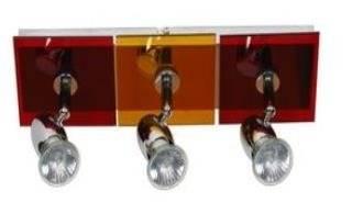 LAMPA SUFITOWA CANDELLUX WYPRZEDAŻ 93-01729 L&H FUTURA LISTWA 3X50W GU10