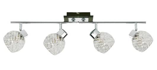 LAMPA SUFITOWA CANDELLUX WYPRZEDAŻ 94-04611 VEGA LISTWA 4X40W G9