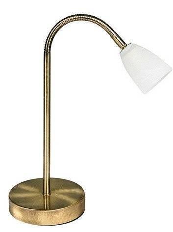 LAMPKA BIURKOWA CANDELLUX WYPRZEDAŻ 41-84388 PARMA LAMPKA 1*40W G9 ZŁOTO PATYNA