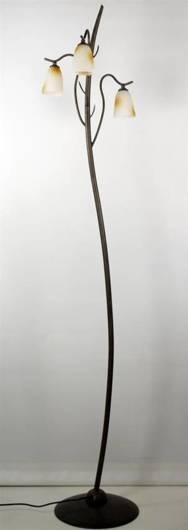 Lampa podłogowa patynowa 3x40W G9 L&H Candellux 53-84869