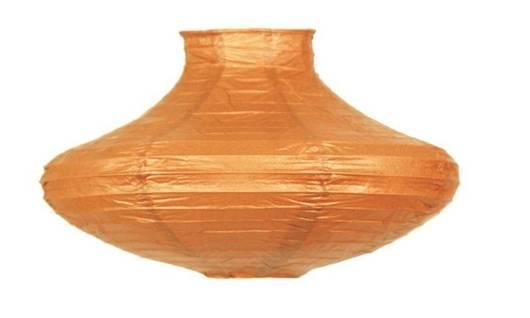 Lampa wisząca papierowa pomarańczowa Griff Candellux 3494400-18