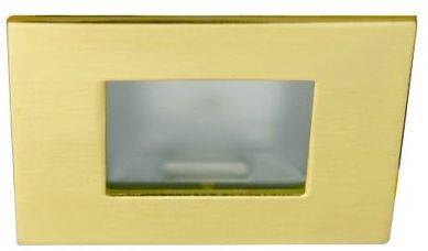 Oprawa schodowa kwadratowa złota satynowa G4 MS-04 Candellux 2207940