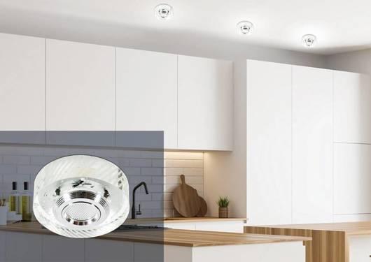 Oprawa stropowa LED 3W okrągła bezbarwna szklana SS-33 Candellux 2228815
