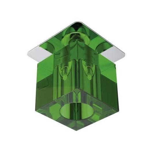 Oprawa stropowa chrom kryształ zielony G4 20W SK-18 Candellux 2280236