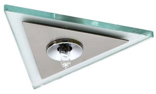 Oprawa stropowa chrom + satyna trójkątna G4 PO-04 2209948