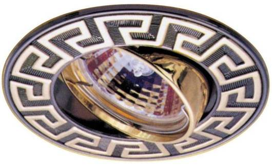 Oprawa stropowa złota/brązowa regulowana grecka MR16 50W UO-03 Candellux 2240952